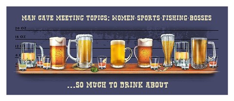Framed Topics Print