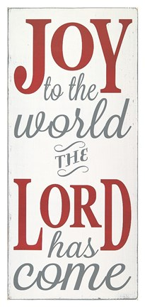 Framed Joy the the World The Lord Print