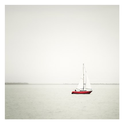 Framed Sailing on Dreams Print