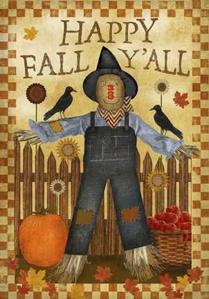 Happy Fall Y All Iii Fine Art Print By Beth Albert At
