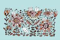 Flower Monsters  Fine Art Print
