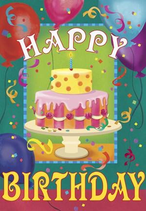 Happy Birthday Fine Art Print By Fiona Stokes Gilbert At