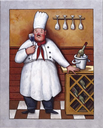 Chef Ii Fine Art Print By John Zaccheo At Fulcrumgallery Com