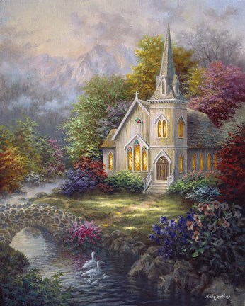 Serenity Fine Art Print By Nicky Boehme At Fulcrumgallery Com