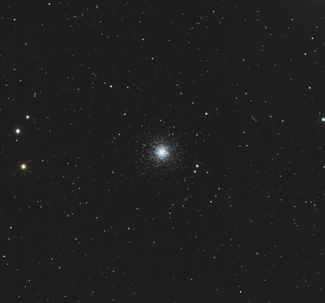 Framed Messier 53, globular cluster in the Coma Berenices Constellation Print