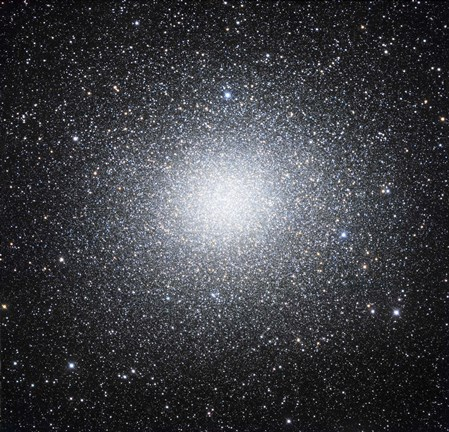 Framed Omega Centauri or NGC 5139 is a globular cluster of stars seen in the Constellation of Centaurus Print