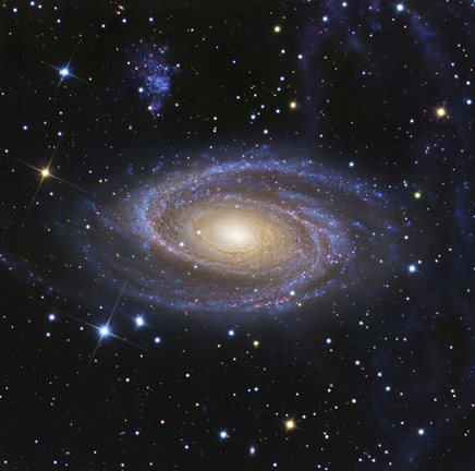 Framed Messier 81, or Bode's Galaxy, is a spiral galaxy located in the Constellation Ursa Major Print