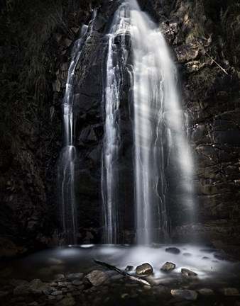Framed Waterfall Gully Second Falls Print
