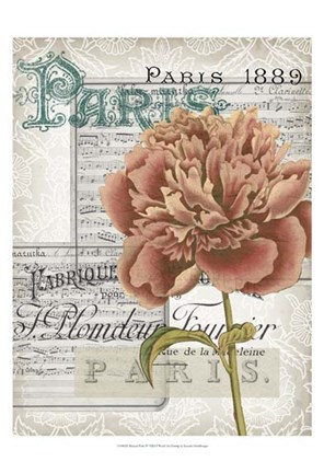 Framed Musical Paris IV Print
