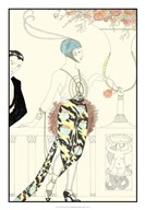 Arte Deco Fashion II  Fine Art Print