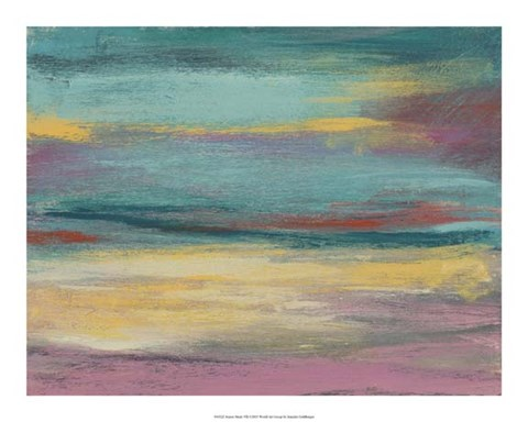 Framed Sunset Study VII Print