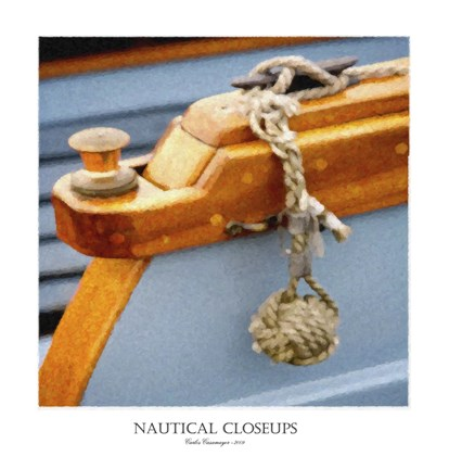 Framed Nautical Closeups 5 Print