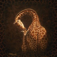 Love's Golden Touch  Fine Art Print
