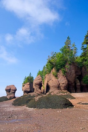 Framed Bay of Fundy Hopewell Rocks Print