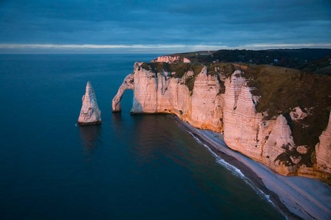 Framed Normandy at Etretat Print