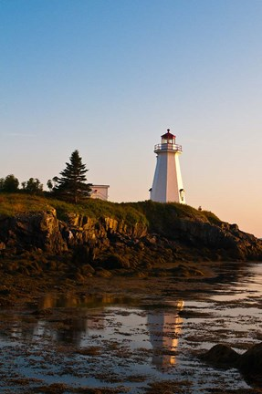Framed Letite Passage Lighthouse Print