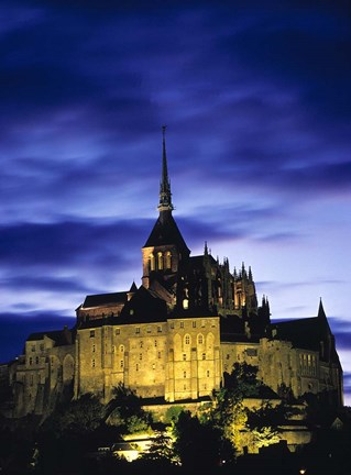 Framed France, Le Mont St-Michel, Normandy Print