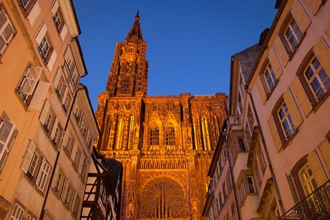 Framed Strasbourg Cathedral Print