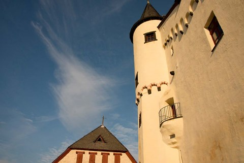Framed Marksburg Castle in Germany Print