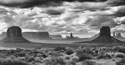 Framed Monument Valley 13 Print