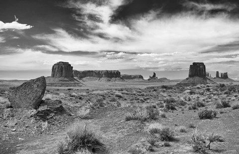 Framed Monument Valley 12 Print