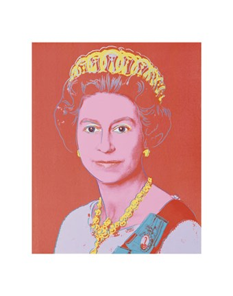 Framed Reigning Queens: Queen Elizabeth II of the United Kingdom, 1985 Print
