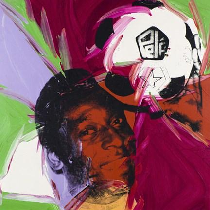 Pele C 1977 Fine Art Print By Andy Warhol At