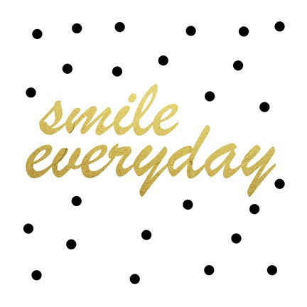 Framed Smile Everyday Print