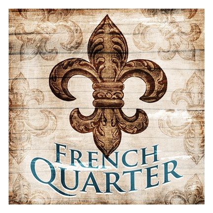 Framed French Quarters Print