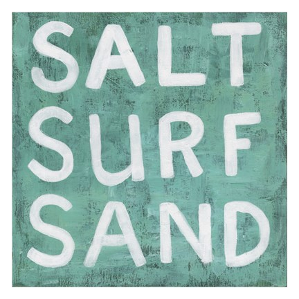 Framed Salt Surf Sand Print