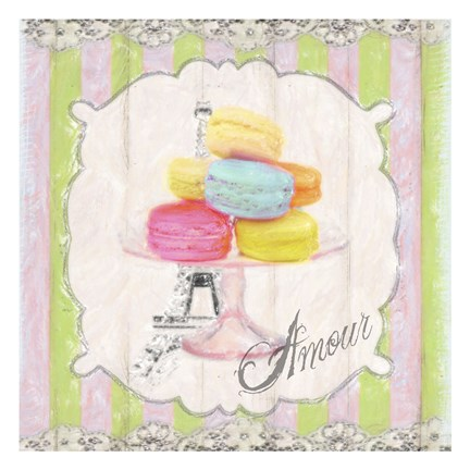 Framed Amour Macaron Print