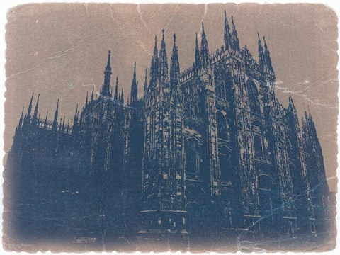 Framed Milan Cathedral Print
