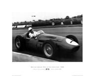 A. Smith - British Grand Prix-Silverstone-'56  Fine Art Print