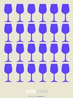 Wine Lover Purple  Fine Art Print