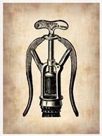 Vintage Wine Opener 1  Fine Art Print