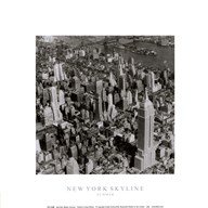New York Skyline Summer  Fine Art Print