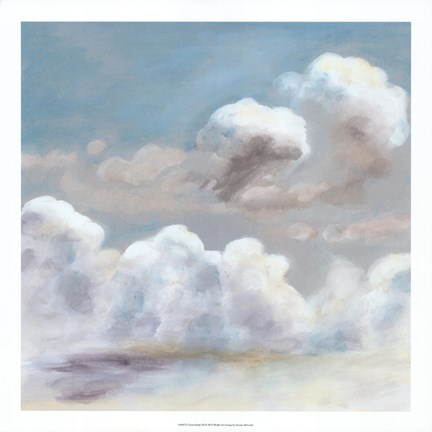 Framed Cloud Study III Print