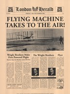 Flying Machine Takes to the Air! Art