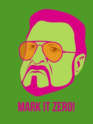 Framed Mark it Zero 2 Print