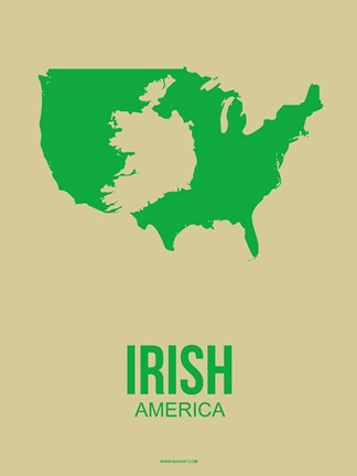 Framed Irish America 2 Print