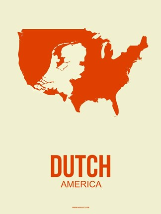 Framed Dutch America 1 Print
