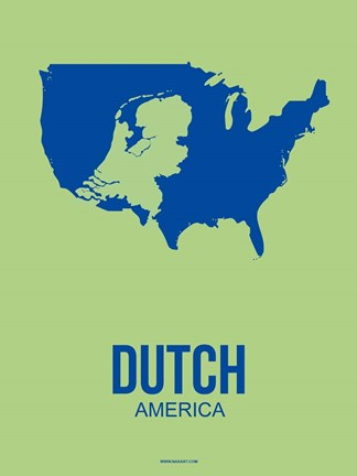 Framed Dutch America 3 Print
