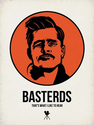 Framed Basterds 1 Print