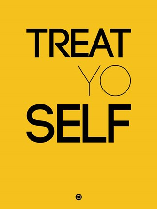 Framed Treat Yo Self 2 Print