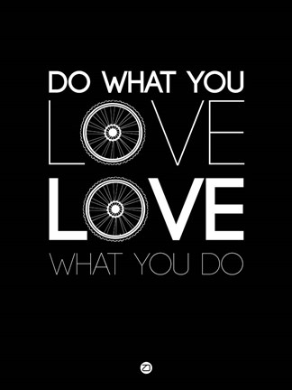 Framed Do What You Love Love What You Do 9 Print