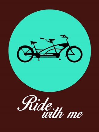 Framed Ride With Me 2 Print