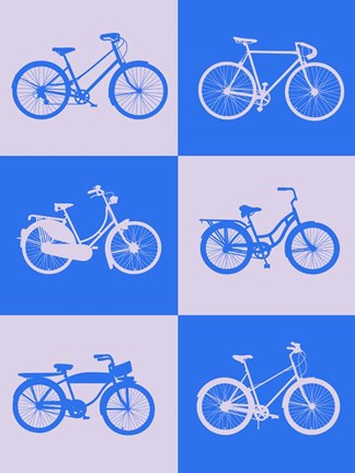 Framed Bicycle Collection 2 Print
