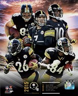 Pittsburgh Steelers 2015 Team Composite  Fine Art Print