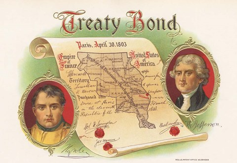 Framed Treaty Bond Print
