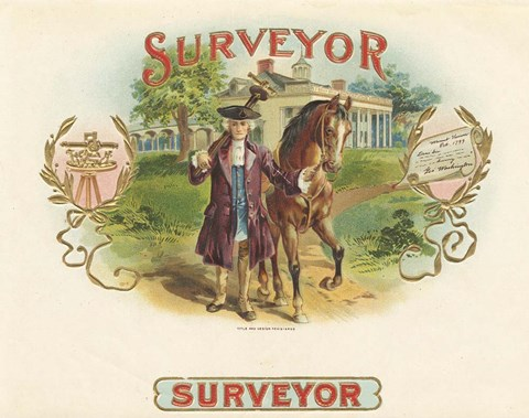 Framed Surveyor Print